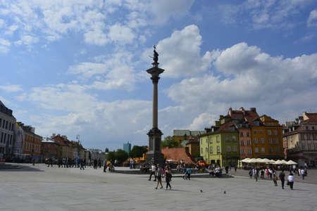 central square: Piazza centrale di Varsavia Editoriali