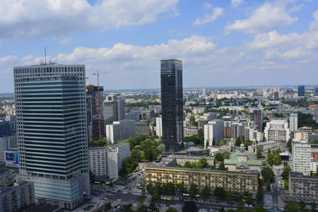 warsaw: Warsaw skyscrapers