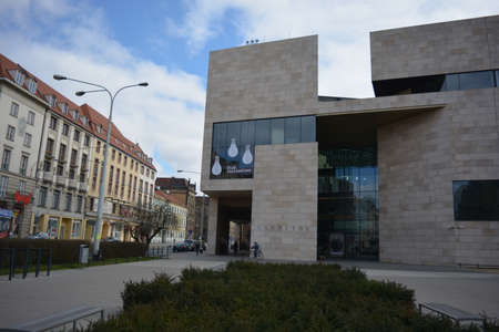 downtown capitol: Capitol Theater in Wroclaw Editorial