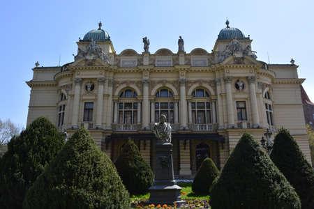 krakow: Theater in Krakow Editorial