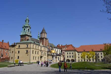 wawel: Wawel castle in Krakow Editorial
