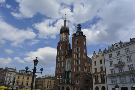 krakow: St.Mary church in Krakow