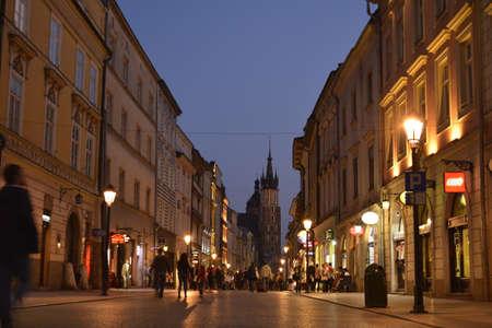 krakow: Krakow Old City center