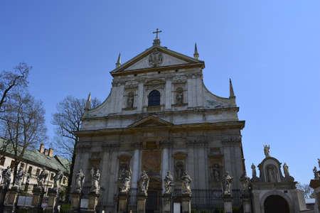 krakow: A church in Krakow