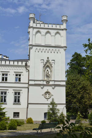 silesia: Tower of a palace in Lower Silesia