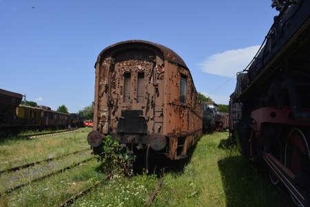 sicomoro: Vecchio carrello a Sycamore Archivio Fotografico