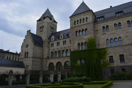 poznan: The Poznan castle Editorial