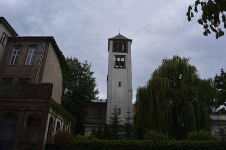 poznan: Fire tower in Poznan