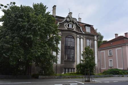 poznan: Old house in Poznan Stock Photo