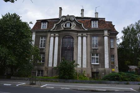 poznan: House in Old Poznan Stock Photo