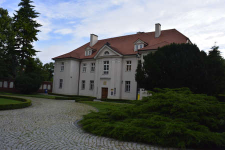 poznan: Buildint at Tumski island in Poznan