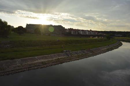 poznan: Evening in Poznan