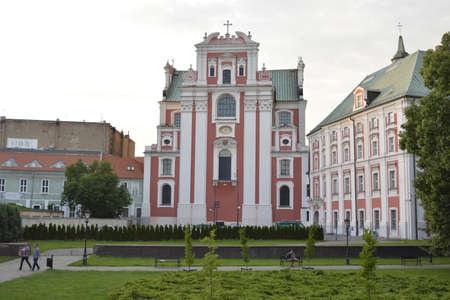 poznan: St.Mary church in Poznan Editorial