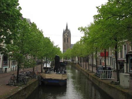delft: Canal in Delft