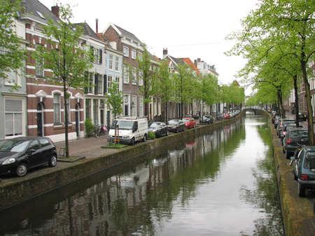 delft: Streets of old Delft