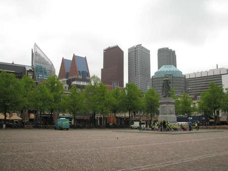 'the hague': Skyscrapers of the Hague Editorial