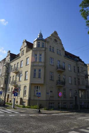poznan: Old house in Poznan district Jezyce
