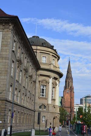 poznan: Old town in Poznan