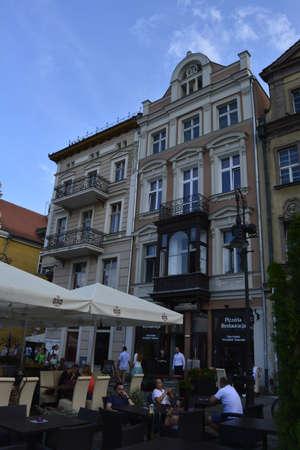 poznan: Market square in Poznan Editorial