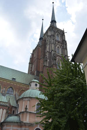 wroclaw: Wroclaw Cathedral in spring