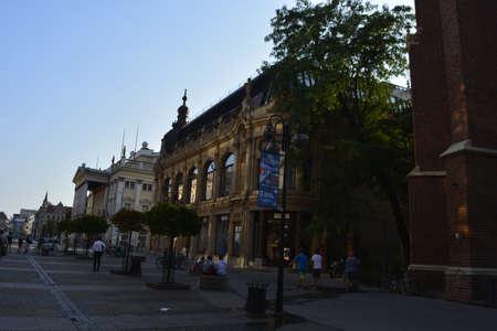 wroclaw: Swidnicka street in Wroclaw
