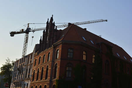 historical buildings: Renovation of historical buildings in Wroclaw