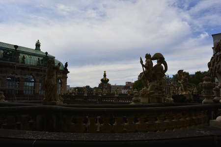 dresden: Zwinger palace in Dresden
