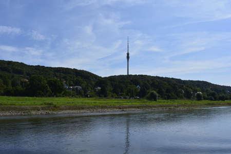 vicinity: Television tower in the vicinity of Dresden