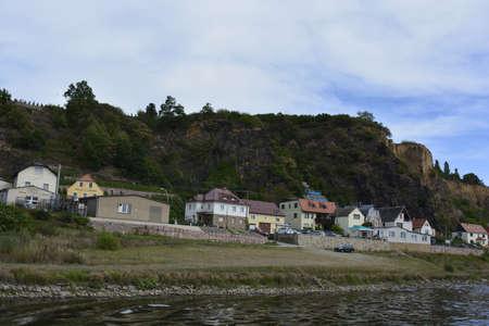 saxony: A small village in Saxony Stock Photo