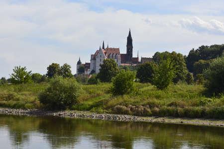 elba: A castle on the banks of the river Elba