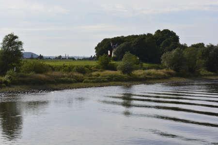 elba: Elba River near Dresden Stock Photo
