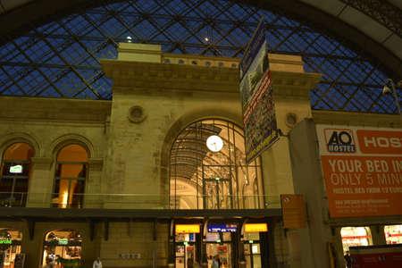 main: Dresden main railway station