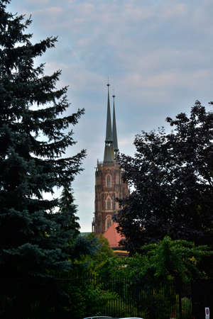 wroclaw: Wroclaw cathedral Stock Photo