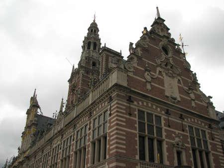 leuven: Old architecture of Leuven