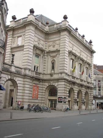 leuven: Center of Leuven city