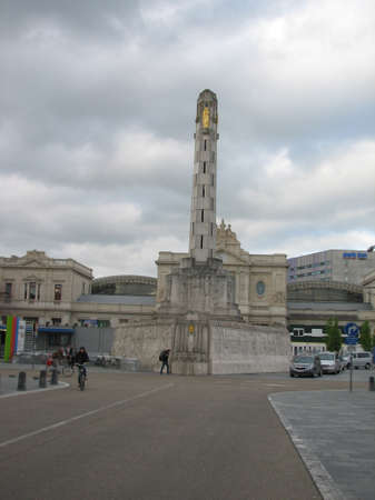 central square: The central square of Leuven