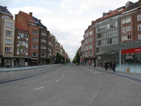 leuven: Street in Leuven