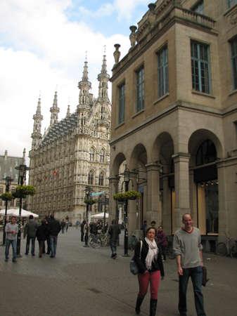 leuven: Market of Leuven Editorial