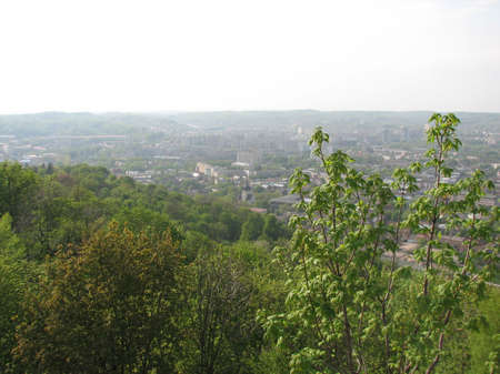 lviv: Panorama of Lviv from the High Castle