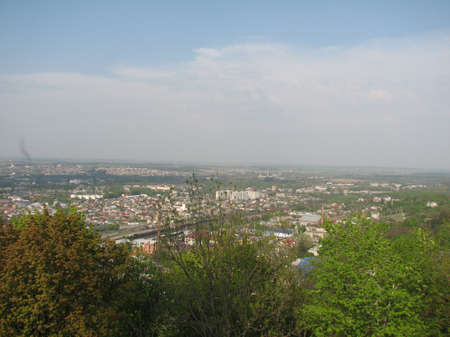 lviv: View from the Hight Castle in Lviv