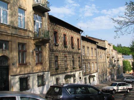 lviv: Streets in old Lviv