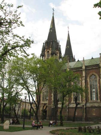 lviv: St.Olga church in Lviv Stock Photo