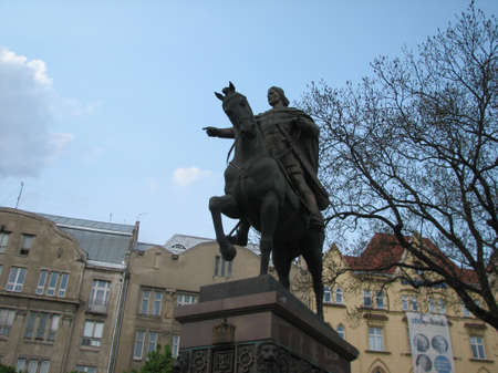 lviv: Monument to King Danylo in Lviv