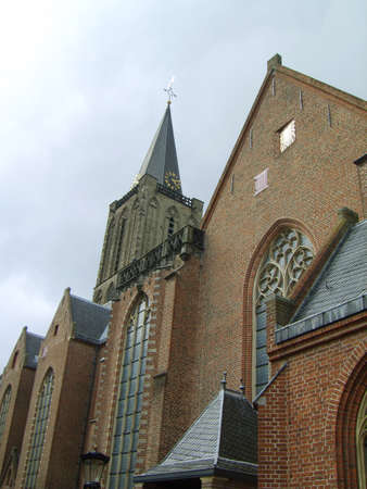 the old church: Old church in Utrecht