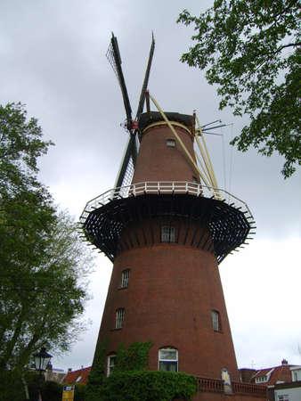 utrecht: Old mill in Utrecht
