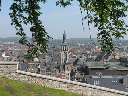 walloon: Center of Namur from the Citadel