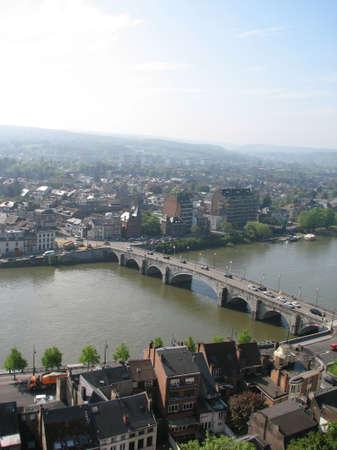 meuse: Bridge of Meuse river in Namur