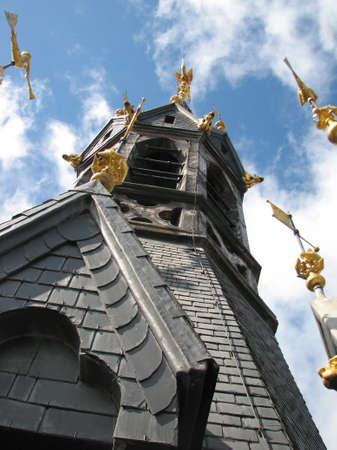 walloon: Top of the belfry of the Belgian city of Tournai