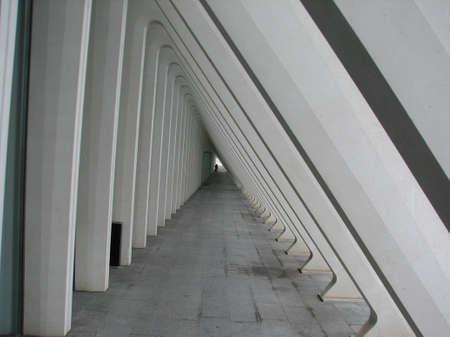liege: Metal structures of Liege railway station