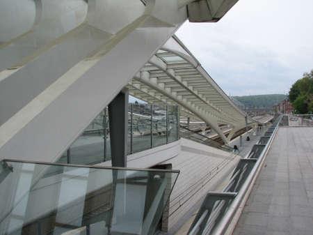 liege: New railway station of Liege